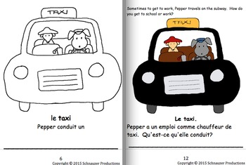 Places We Visit in French with Pepper