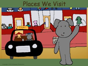 Places We Visit with Pepper