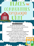 Places and Urban, Suburban, and Rural Communities Language Unit