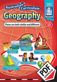 Places are both similar and different – Australian Curriculum Geography – Year 3