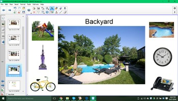 Places around the house SMARTboard activity!!!
