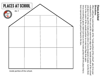 Places at School Interactive Notebook Page