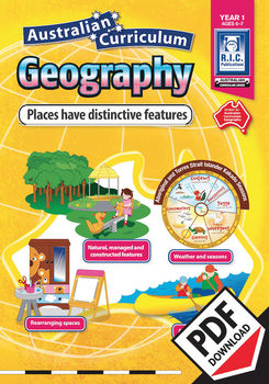 Places have distinctive features – Australian Curriculum Geography – Year 1