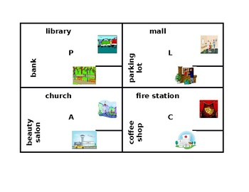 Places in English 4 by 4
