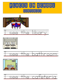 places in school vocabulary activities and games by tree house esl. Black Bedroom Furniture Sets. Home Design Ideas