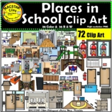 Places In School Clip Art BUNDLE & more
