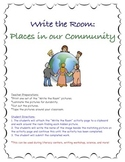 Places in our Community - Write the Room Activity