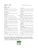 Places in the City Spanish Vocabulary Guided Notes