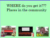 Places in the community ... where questions for children