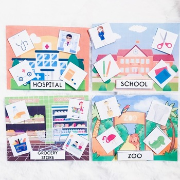Places to Go Sorting Activity