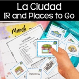 Spanish Verb IR and Places to Go (La Comunidad)