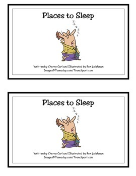 Places to Sleep (Sl initial blend and HFW)