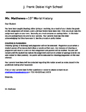 Plagiarism & Cheating Notification/Consequences Letter to Student and Parents