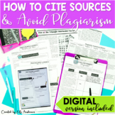 Plagiarism Citing Sources and Avoiding Plagiarism DIGITAL