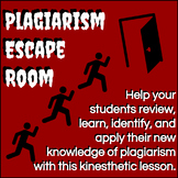 Plagiarism Escape Room