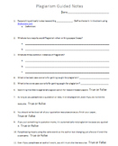 Plagiarism Guided Notes