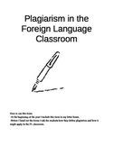 Plagiarism Handout and Contract, Foreign Language (Spanish)