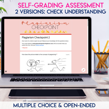 Plagiarism Lesson Bundle for Middle and High School Students