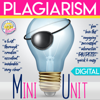 Plagiarism Lesson: Avoiding Plagiarism Unit for Middle and High School Students
