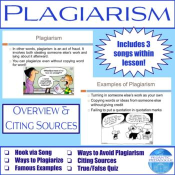 Plagiarism: Overview & Citing Sources