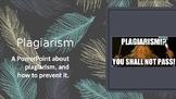 Plagiarism Powerpoint