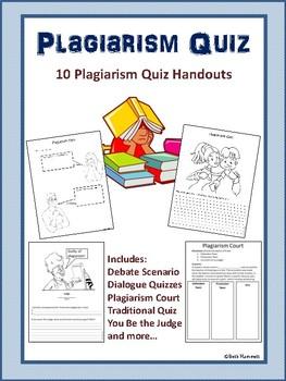 Plagiarism Quiz