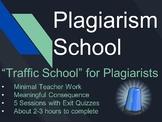 "Plagiarism School - A ""Traffic School"" for Plagiarists"