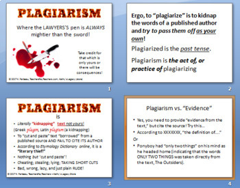 Plagiarism - Text that's been Kidnapped!
