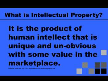 Plagiarism and Intellectual Property PowerPoint