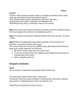 Plagiarism vs. Appropriation Essay