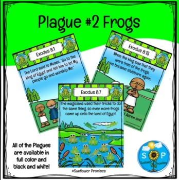 Plague #2 Frogs Scripture Cards