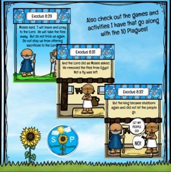 Plague #4 Flies Scripture Cards