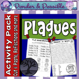 Plague Activity pack ~ Moses and The Great Plagues of Egypt Activities