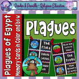 Plague Concentration Memory Game: Moses and The Ten Plagues of Egypt