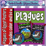 Plague Posters ~ Moses and The Ten Plagues of Egypt Posters