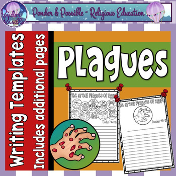 Plague Writing Templates ~ Moses and the Ten Plagues of Egypt Writing Templates