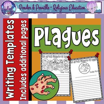 Plague Writing Templates ~ Moses and the Ten Plagues of Eg