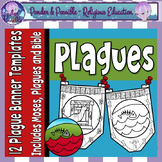 Plague Banners ~ Moses and The Ten Plagues of Egypt