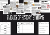Plagues of History Stations Activity
