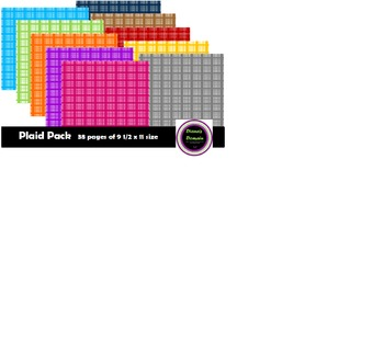Plaid Background Paper
