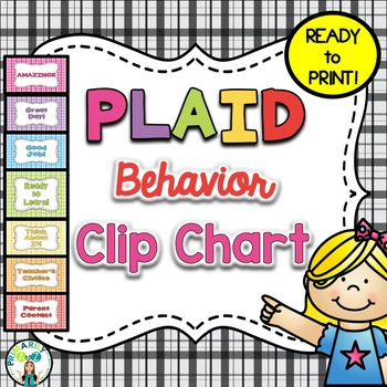 Plaid Behavior Clip Chart