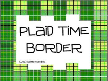 Plaid Border