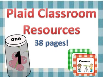 Plaid Classroom Resources 38 pages