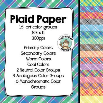 Plaid Paper
