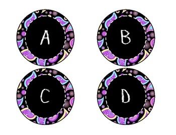 Plaid and Paisley Classroom Decor Pack