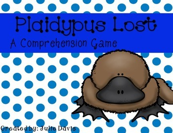 Plaidypus Lost Comprehension Game