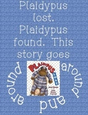Plaidypus Lost (Kindergarten Reading Street Unit 1 Week 3)