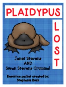 Plaidypus Lost ~ Scott Foresman Reading Street® ~ Resource Packet