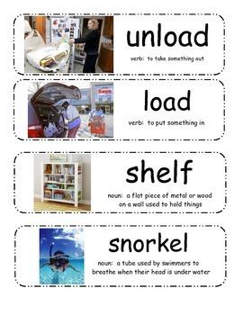 Plaidypus Lost Vocabulary Cards