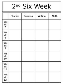 Plain B&W Curriculum Planner *Editable*